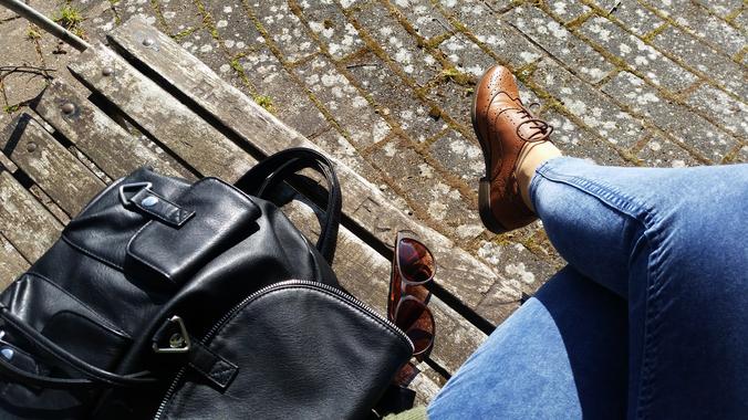 Leather Backpack Rucksack