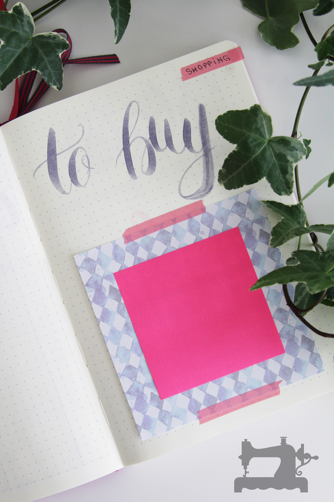 bullet journal new pink5