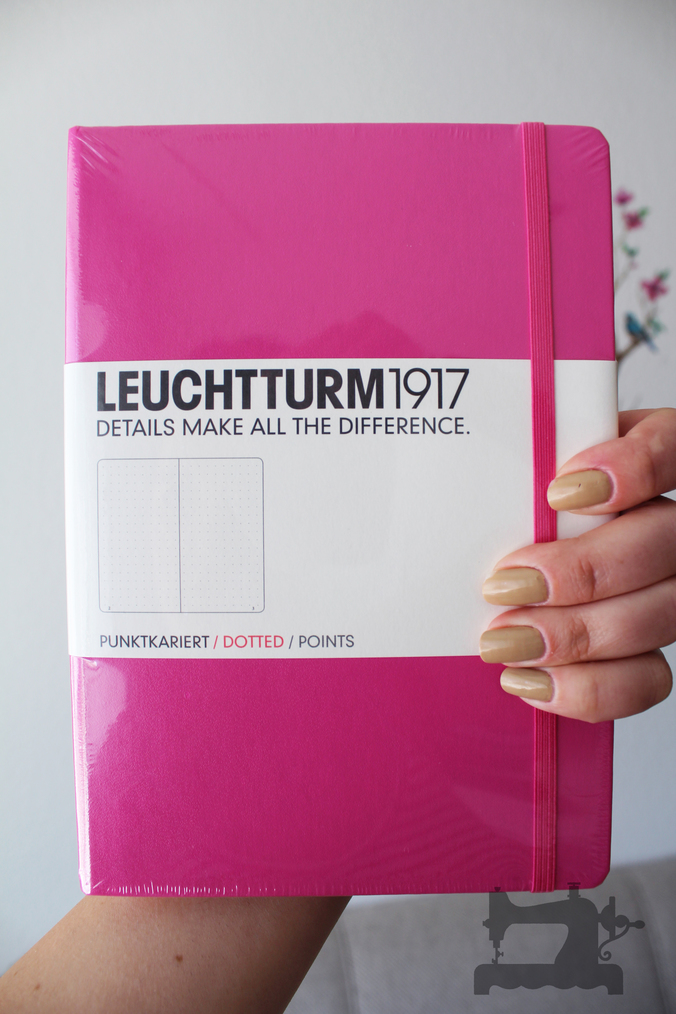 bullet journal new pink7