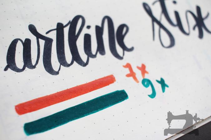 artline stix brush markers6
