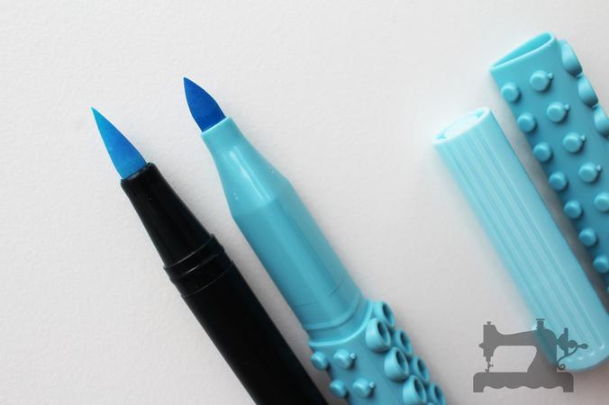 artline stix brush markers9