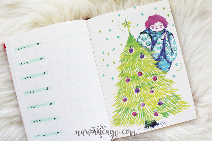 Bullet Journal – set-up pentru luna Decembrie10