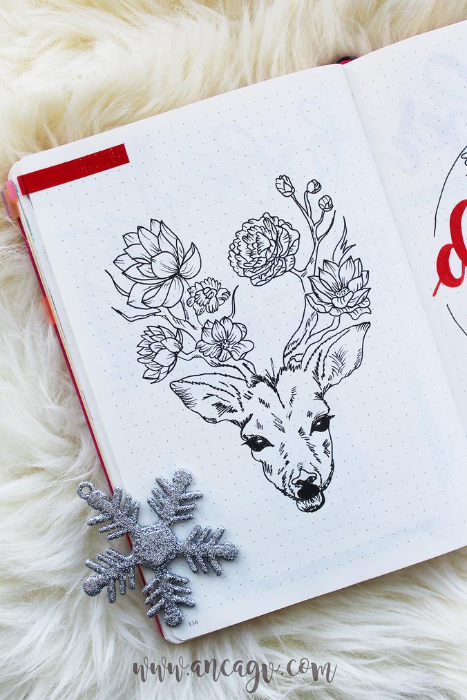 Bullet Journal – set-up pentru luna Decembrie4