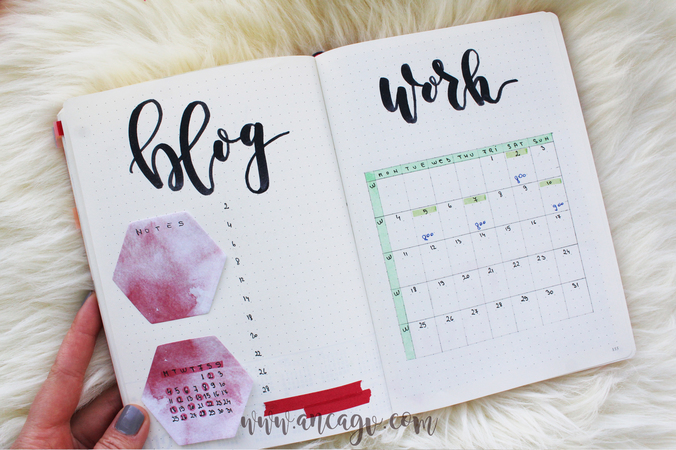 Bullet Journal – set-up pentru luna Decembrie9