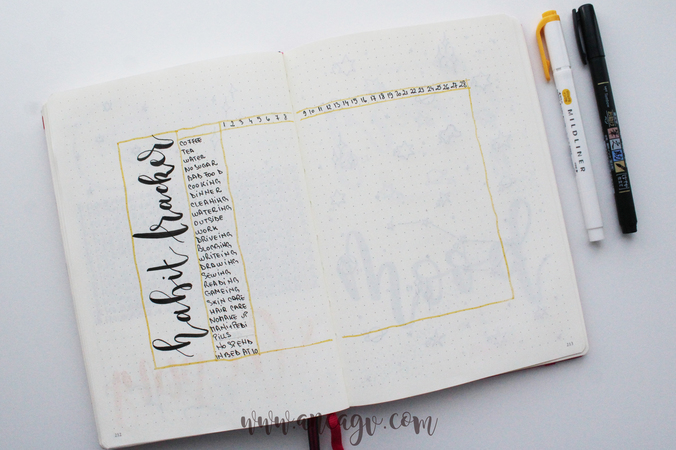 Bullet Journal – set-up pentru luna Februarie10