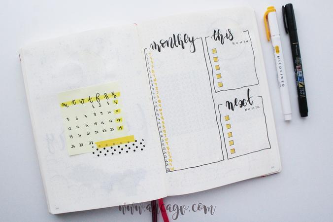 Bullet Journal – set-up pentru luna Februarie14