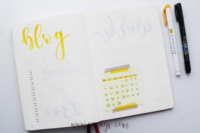 Bullet Journal – set-up pentru luna Februarie4