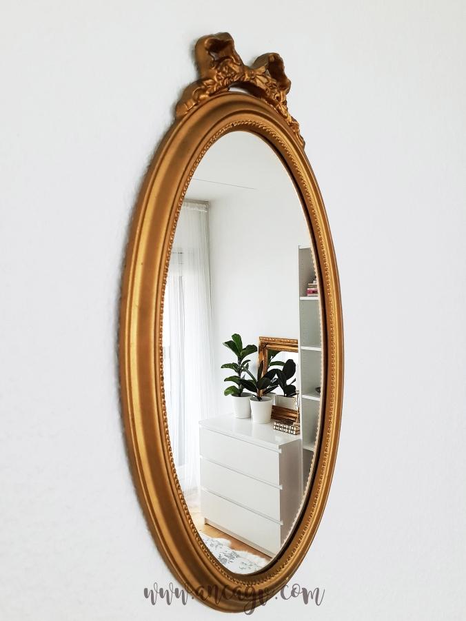 restaurarea unei oglinzi cu rama vintage11