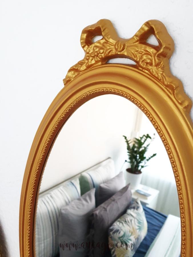restaurarea unei oglinzi cu rama vintage2