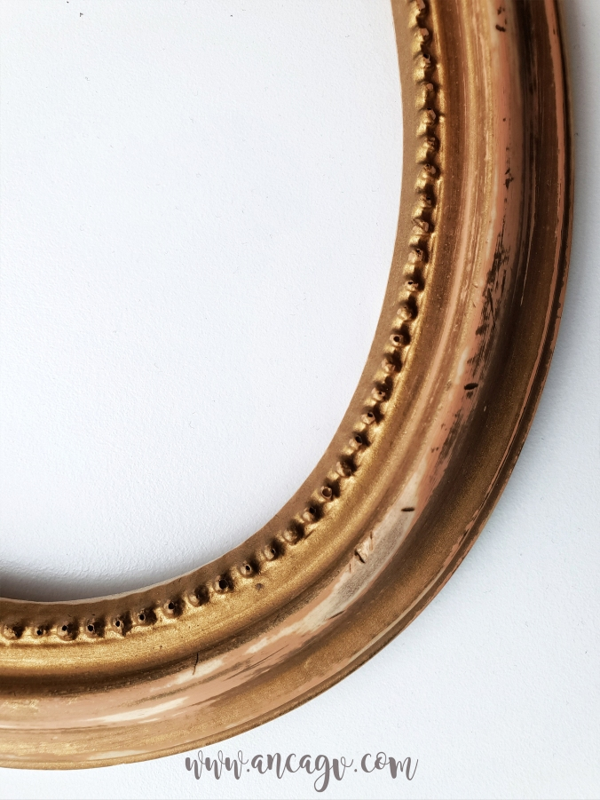 restaurarea unei oglinzi cu rama vintage7