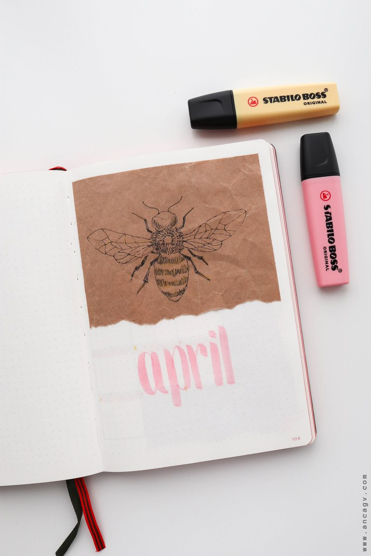 Bullet-Journal-–-set-up-for-April-2020-13