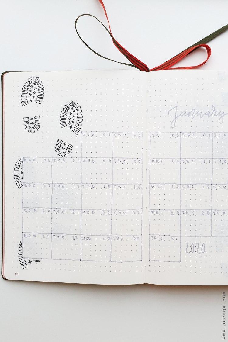 Bullet-Journal-–-set-up-for-January-2020-12