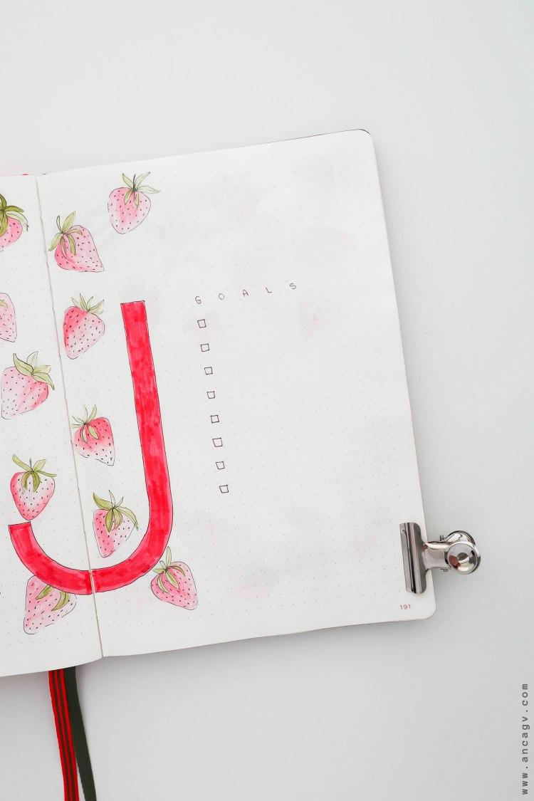 Bullet-Journal-–-set-up-for-June-20206